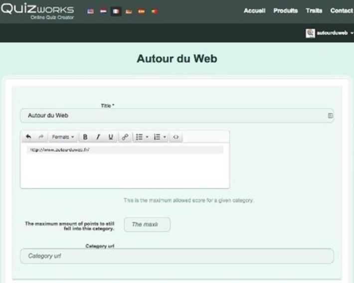 Quizworks, créer un quiz gratuit et en ligne | MOOC Francophone | Scoop.it