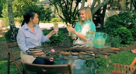 How-To Create a Gorgeous Patio Table with a Strawberry Jar   Annie Haven   Haven Brand   Scoop.it