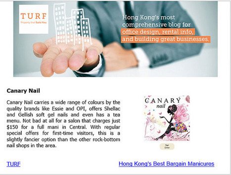 Canary Nail | Office Design | Scoop.it