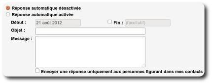 Gmail : comment créer un message d'absence avec le répondeur automatique | Time to Learn | Scoop.it