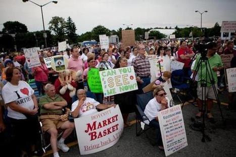 Rally kicks off at Market Basket store in Tewksbury - Boston Globe | Boston, you're my home | Scoop.it