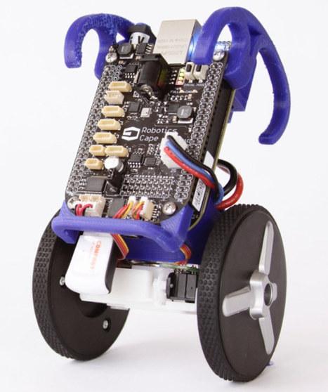 BeagleBone Blue Board is Designed for Robots and UAVs | Raspberry Pi | Scoop.it