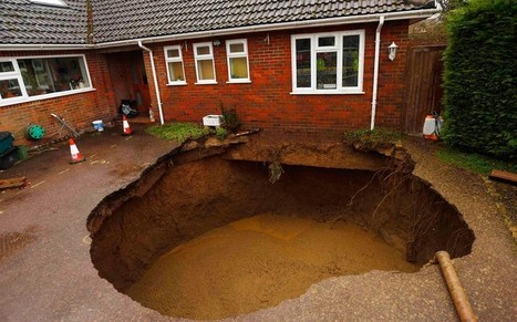 In pictures: sinkholes, craters and collapsed roads around the world - Telegraph | Disaster Emergency Survival Readiness | Scoop.it