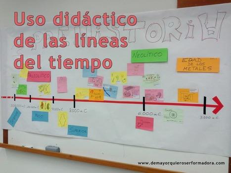 Uso didáctico de las líneas del tiempo | De mayor quiero ser formadora | Contenidos educativos digitales | Scoop.it
