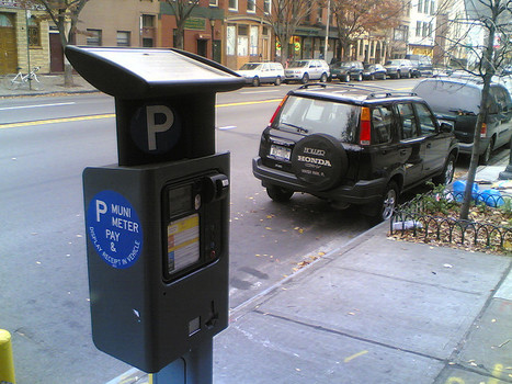 Old Parking Meters to Become Bicycle Racks in New York | green streets | Scoop.it
