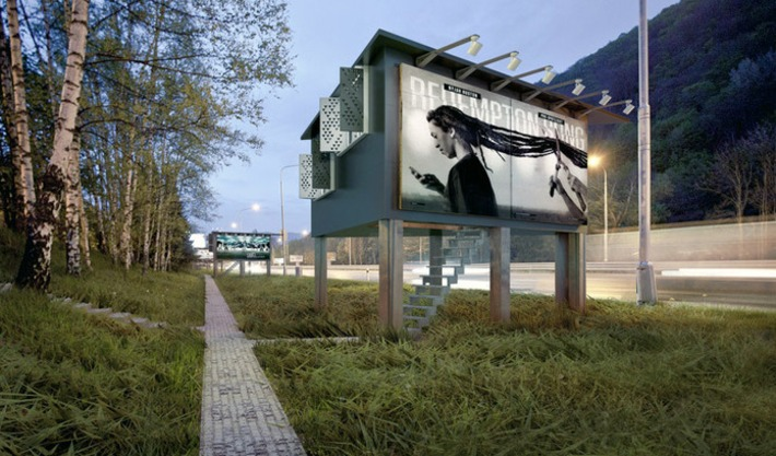 designdevelop converts billboards into houses for the homeless | Architectural News | Scoop.it
