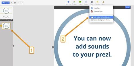 Cómo agregar sonido a Prezi ~ Docente 2punto0 | Las TIC y la Educación | Scoop.it