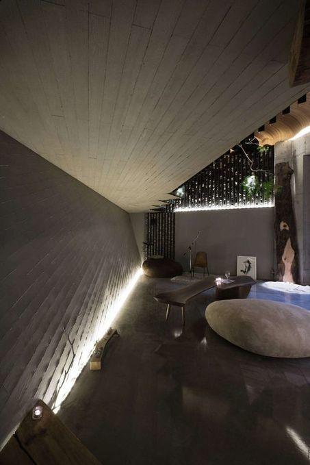 Maison semi-enterrée dans les roches en Corée du Sud | Construire Tendance | Dans l'actu | Doc' ESTP | Scoop.it
