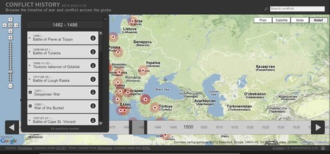 A history of conflicts | Data Visualization & Infographics | Scoop.it
