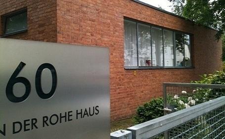 Mies Van Der Rohe, Casa Lemke | TECNNE - Arquitectura y contextos | Marcelo Gardinetti | Scoop.it