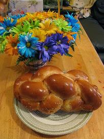 Recette de challah, un pain brioché tressé sans beurre (cuisine juive)   Petits déjeuners et pains de la rue, dans le monde   Scoop.it