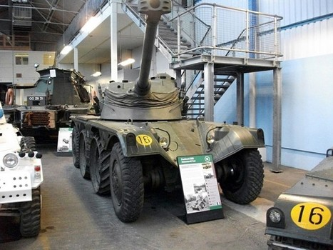 Panhard EBR Armoured Car – Walk Around | History Around the Net | Scoop.it