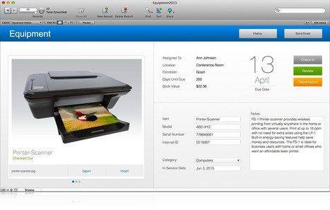 FileMaker 13 Platform New Features | FileMaker | paperless | Scoop.it