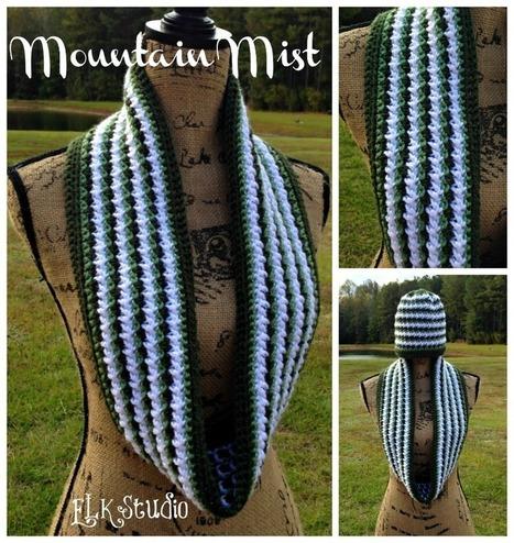 Mountain Mist - A Crochet Scarf by ELK Studio | FREE Crochet Patterns | Scoop.it