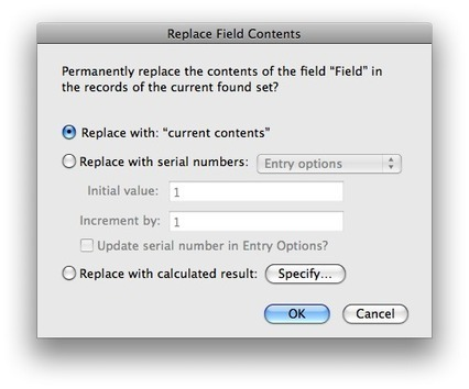 The Replace Field Contents Command - Why It Is So Cool | Education in the Digital Age | Scoop.it