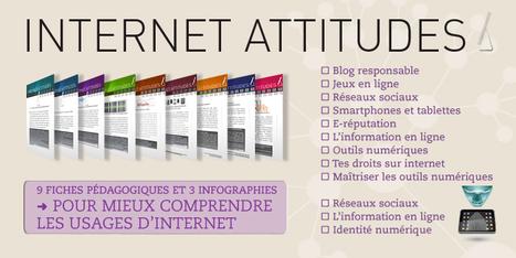 9 fiches pédagogiques et 3 infographies pour mieux comprendre les usages d'internet #EcoleNumerique | eLearning related topics | Scoop.it