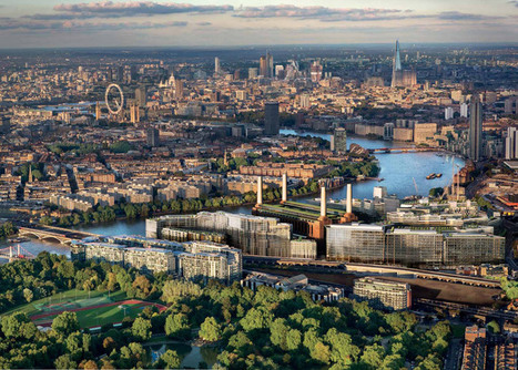 Gehry and Foster team up on Battersea Power Station redevelopment | green streets | Scoop.it