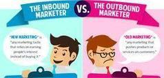 inbound marketing vs outbound marketing | marketeur | Scoop.it