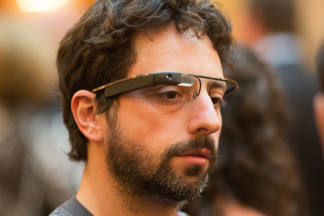 Augmented reality geek catches Sergey Brin on the NY subway — wearing Google Glass | Augmented Reality geeks | Scoop.it