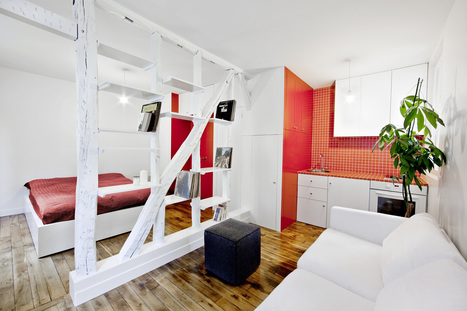 10 Easy to Follow Design Ideas for Small Apartments – Adorable Home | Adorable Home - Inspirational Home Design and Decorating Ideas | Scoop.it