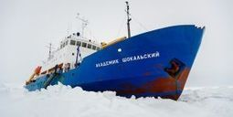 Navires bloqués dans les glaces de l'Antarctique : Pourquoi une telle galère ? | Actualités com', pub | Scoop.it