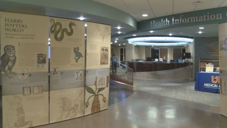 Harry Potter exhibit opens at UT Medical Center | Librarian | Scoop.it