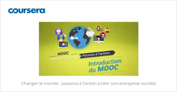 [Today] MOOC Changer le monde : passons a l'action | Solutions locales | Scoop.it