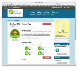Smithsonian Badges | Shout Online Conference Series | E-Learning and Online Teaching | Scoop.it