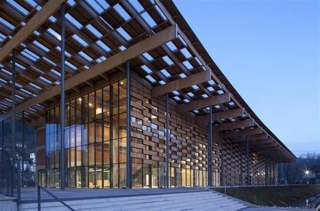 La nouvelle Cité des Arts et de la Culture à Besançon par Kengo Kuma | The Architecture of the City | Scoop.it