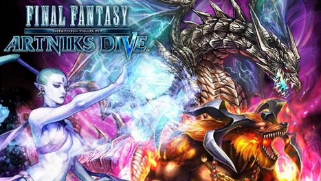 Final Fantasy Artniks Dive is a new free-to-play RPG designed for mobile - Polygon | Awesome things in my universe | Scoop.it