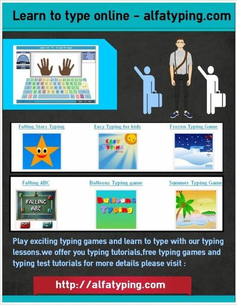 Learn to type with alfatyping.com | free online typing and free online typing games | Scoop.it