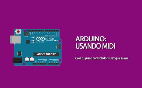 ARDUINO+MIDI: Tu propio piano   Arduino ya!   Scoop.it