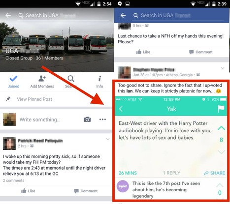 Bus driver constantly playing 'Harry Potter' audiobooks on his route is a 'legend' on Yik Yak | 21st Century School Libraries | Scoop.it