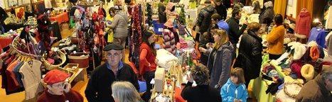 Chaleureuse ambiance au marché des Mères Noël de Sarrancolin | Vallée d'Aure - Pyrénées | Scoop.it