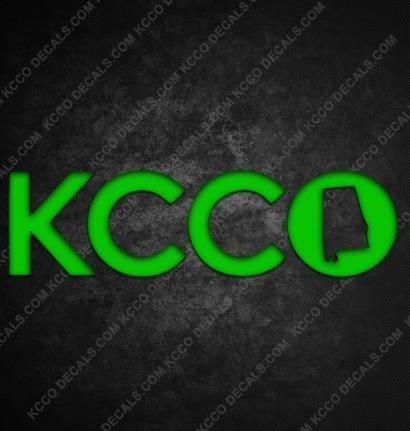 Alabama KCCO Sticker from kccostickers | KCCO Stickers | Scoop.it