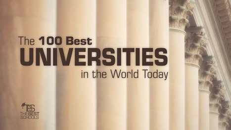 The 100 Best Universities in the World Today | The Best Schools | fluoride-free water: the global  battle for safer water | Scoop.it