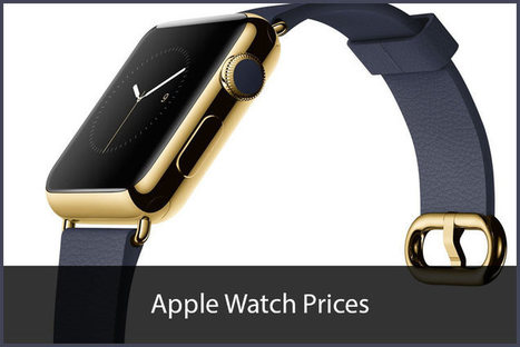 Apple Watch Price: How Much Can You Go For Apple Watch? | All Things iPhone, iPad and Apple | Scoop.it