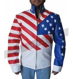 Vanilla Ice America Flag Jacket | Motorcycle Leather Jackets For Men and Women | Scoop.it
