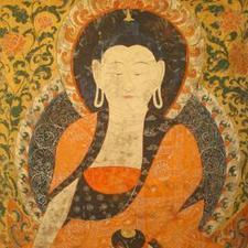 Amitabha celestial Buddha scroll painting | Useful Information | Scoop.it