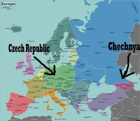 TWEETS: Chechnya Is Not Czech Republic | Globicate - Global Education for a New Generation | Scoop.it