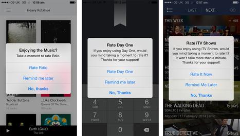 Dan Counsell - Prompting for app reviews | App Marketing & PR | Scoop.it
