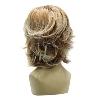 Top Grade Synthetic Light Brown Short Wavy Wig for Sexy Ladies – WigSuperDeal.com | African American Wigs | Scoop.it