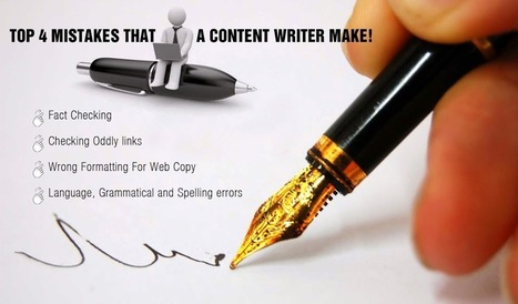 Linath Infotech: Top 4 Mistakes That A Content Writer Make! | IT | Scoop.it