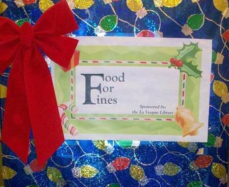 Annual 'Food for Fines' program begins at local library | Tennessee Libraries | Scoop.it