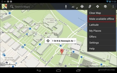 How To Make Google Maps Available Offline on Android | mlearn | Scoop.it
