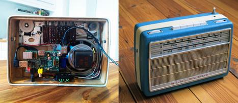 DIY Vintage Internet-Radio using Raspberry Pi - Makerflux | Raspberry Pi | Scoop.it