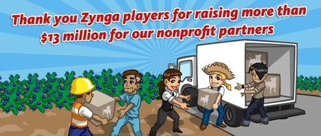 "COOL Zynga Raises $13M From ""Gaming For Social Good"" 