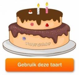 verjaardagstaart digibord | Educatief Internet - Gespot op 't Web | Scoop.it