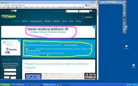 Gribouill_i : Un utilitaire gratuit pour dessiner et annoter son écran au cours d'une projection | Ressources pour la Technologie au College | Scoop.it