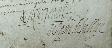MODES de VIE aux 16e, 17e siècles » Archive du blog » Partages de Scépeaux du vivant des parents, Saint Martin du Bois 1630 | blog de Jobris | Scoop.it